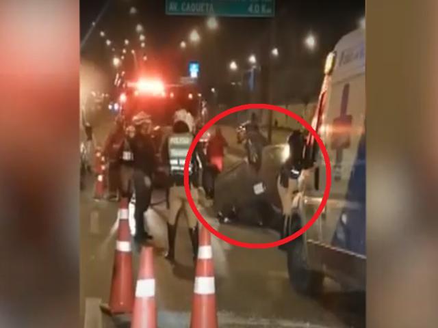 SMP: mujer queda herida tras volcar su vehículo en la Panamericana Norte