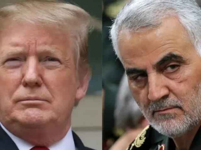 Donald Trump: Irán emite orden de arresto en su contra por muerte de Soleimaní