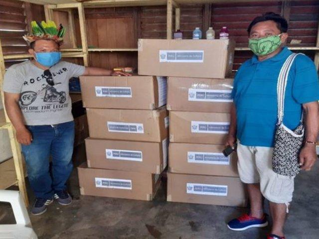 Ucayali: entregan más de 6 mil mascarillas a comunidades nativas del Purús
