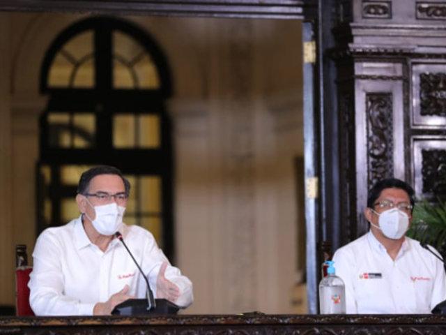 Vizcarra: Hoy llegaron 400 ventiladores mecánicos para lucha contra el Covid-19