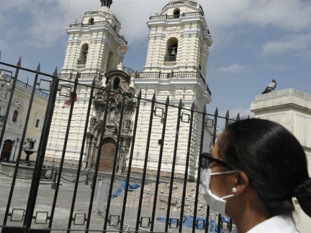 Ejecutivo anuncia apertura de iglesias con aforo limitado desde noviembre