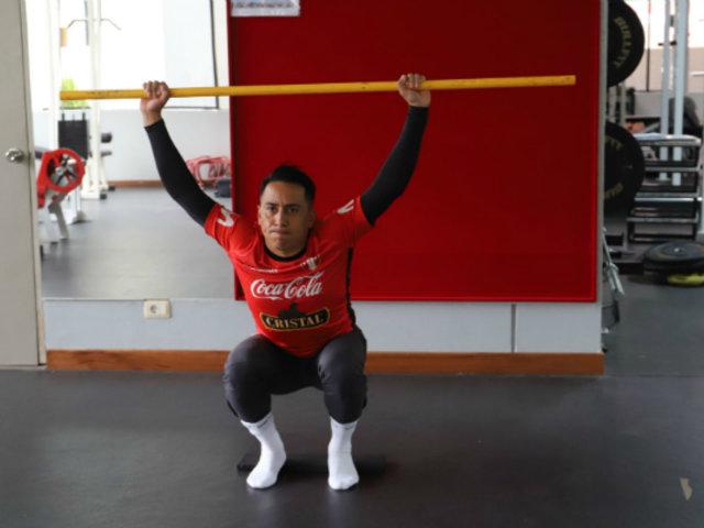 Selección Peruana: Christian Cueva pasó pruebas médicas y ya entrena en la Videna