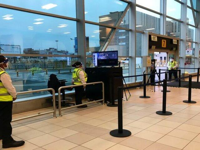 Aeropuerto Jorge Chávez: contacto entre trabajadores y pasajeros será mínima