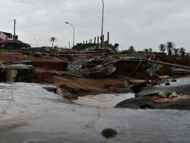 Costa de Marfil: siete fallecidos dejan inundaciones tras fuertes lluvias