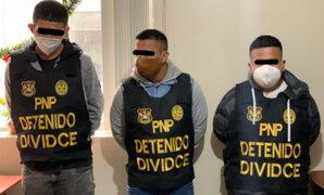 """Caen integrantes de banda criminal """"Los Malditos de Surquillo"""""""