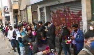 Tráfico, caos y desesperación se apoderan de Lima en 'nueva normalidad'
