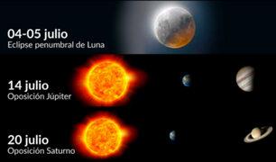 ¡Atentos! Este es el calendario astronómico del cielo peruano para julio