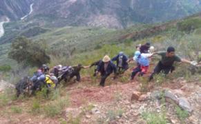 Tragedia en Áncash: 4 personas mueren tras caída de camioneta al abismo