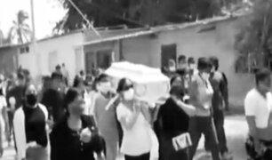 Piura: niño de 5 años muere por una bala perdida