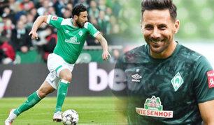 Claudio Pizarro renovó con el Bremen solo para luchar por la permanencia