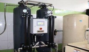 Gobierno Regional del Callao entregó nueva planta de oxígeno al hospital Carrión