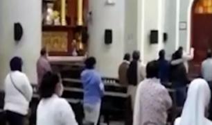 Chiclayo: padre realizó misa con presencia de feligreses en plena crisis sanitaria