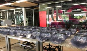 UPC donó más de 3 mil protectores faciales biodegradables