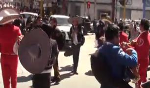 Huancayo: cientos de músicos piden autorización para trabajar en las calles