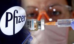 Pfizer anuncian un ensayo positivo con su vacuna del COVID-19
