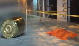 Hombre es asesinado de un disparo en la cabeza en Los Olivos