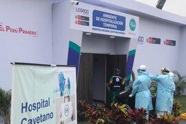 Hospital Cayetano Heredia recibe 62 camas de hospitalización y 42 camas UCI para combatir COVID-19