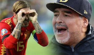 Diego Armando Maradona es candidato a dirigir la selección de España