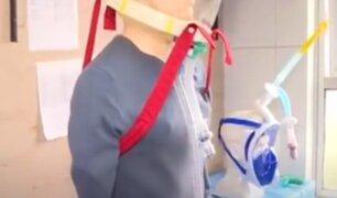 COVID-19: presentan novedosos equipos para pacientes en hospital Almenara
