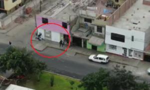 PNP frustra asalto y captura a delincuentes gracias a patrullaje con un drone