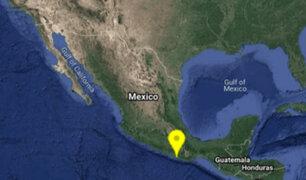México: sismo de magnitud 5.5 sacude el sur del país