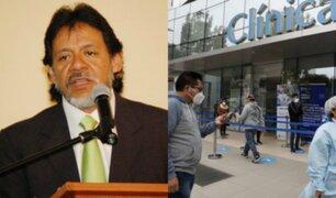 César Gutiérrez: Gobierno cedió ante clínicas privadas aceptando 57% más del justiprecio