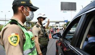 Policías de tránsito que vencieron al Covid-19 protagonizaron emotiva ceremonia
