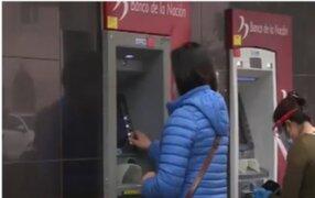 Banco de la Nación aclara que solo tiene sensores de alerta en cajeros y no cámaras