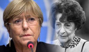 Chile: a los 93 años fallece madre de la expresidenta Michelle Bachelet
