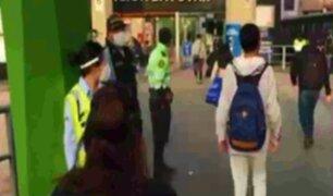 SJL: Estación Bayóvar luce más ordenada en tercer día de cuarentena focalizada