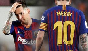 Liones Messi frena negociaciones para renovar con el Barcelona