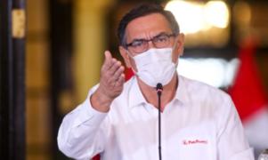 """Covid-19: Vizcarra pide que tratamiento y vacuna sean """"bienes públicos globales"""""""