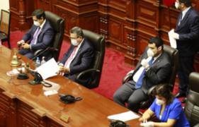 Junta de Portavoces incluyó proyecto sobre inmunidad en la agenda del Pleno