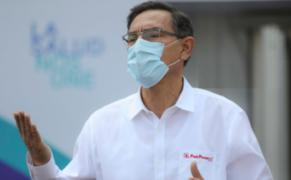 """Presidente Vizcarra: """"no tengo miedo a perder la inmunidad presidencial"""""""