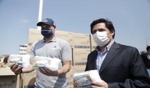 Empresa donó cerca de 100 mil tapabocas para vecinos de La Victoria