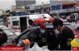 Conocido policía partero ayudó a dar luz a madre en patrullero