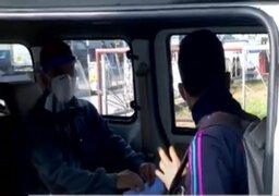 Panamericana Norte: protestan para exigir formalización de taxis colectivos
