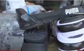"""Falsificaban plantillas de zapatillas de marcas """"adidas"""", """"puma"""" y """"nike"""""""