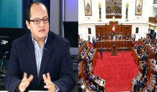 Víctor Quijada: Congreso debería censurar a los ministros de Salud y Economía