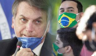 Jair Bolsonaro veta el uso obligatorio de mascarillas en los comercios y escuelas de Brasil