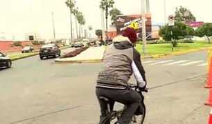 San Isidro: ciclistas denuncian deficiencias en ciclovía de Av. El Ejército