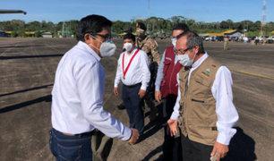 Madre de Dios: premier Zeballos supervisa  acciones contra el Covid-19