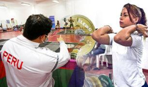 Selección nacional de Levantamiento de Pesas se reincorpora a los entrenamientos