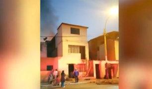 Chorrillos: incendio acaba con la vida de un anciano en silla de ruedas