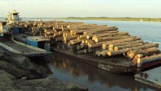 Loreto: detienen embarcaciones con cargamento de ilegal de madera