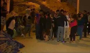Ayacucho: vecinos capturan y castigan a presuntos delincuentes