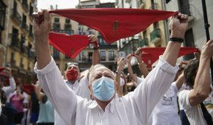 España recibió fiesta de San Fermín con menos gente y sin corridas de toros