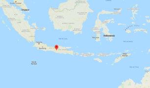 Indonesia: sismo de magnitud 6.6 remeció costa norte de Java