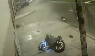 Ate: campeón nacional de skate falleció tras despistar su motocicleta