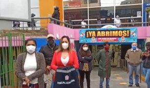 La Victoria: Reabren tiendas de Centro Comercial Parque Cánepa